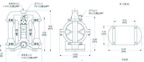 隔膜泵不吸水,隔膜泵出口压力高的原因